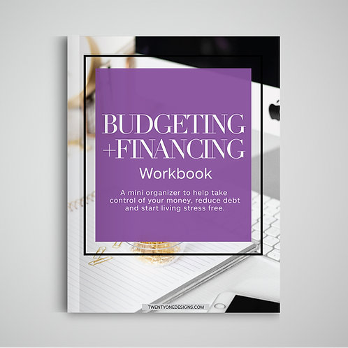 Budgeting + Financing Workbook