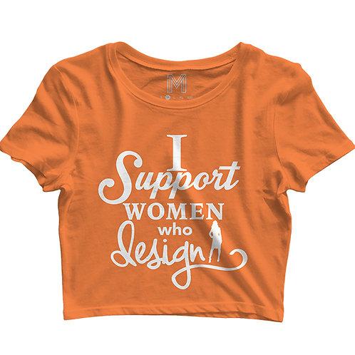 ISSWD Women's Crop Tops