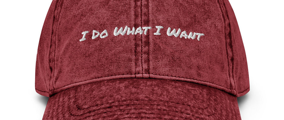 'What I Want' Vintage Cap
