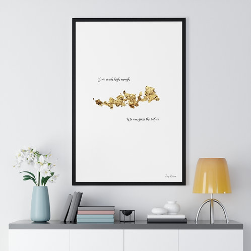 'Reach High' Framed Print