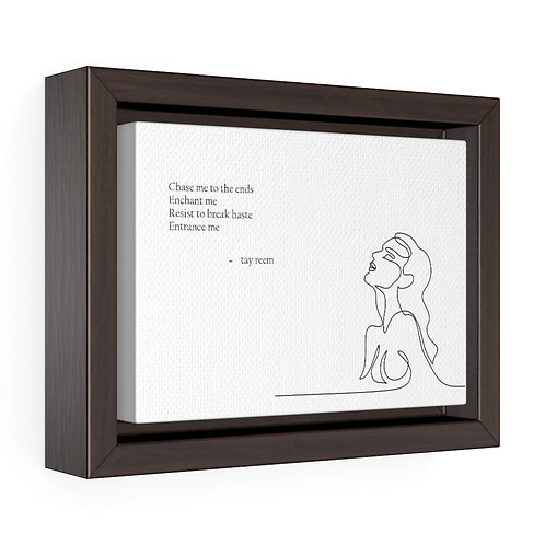 'Chase Me' Premium Framed Wrap Canvas - 3 sizes