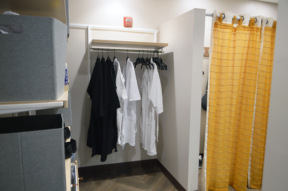 Private Changing Area APMI Wellness Center