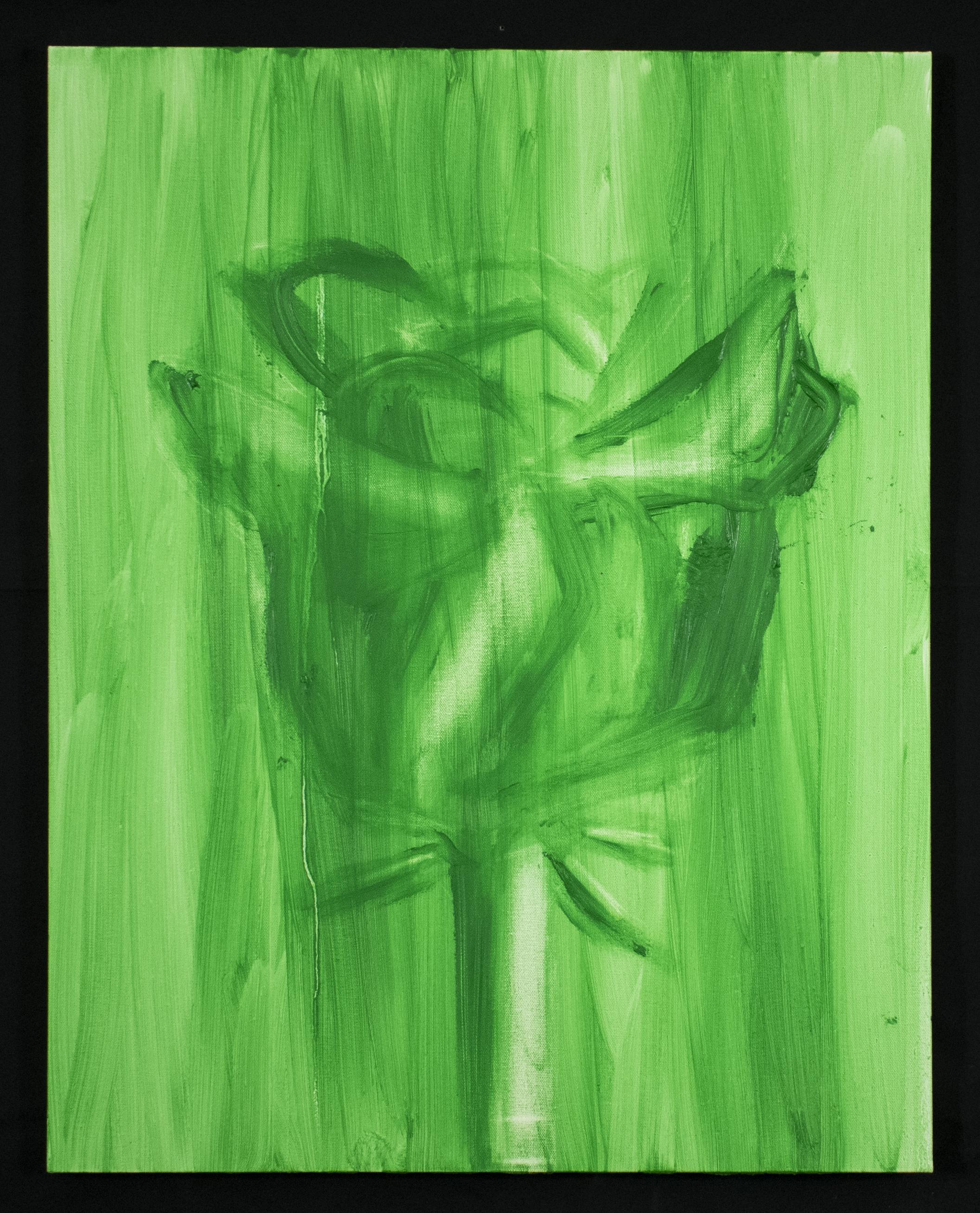 Green Rose #3