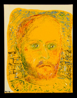 Self-Portrait in Yellow
