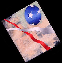 Abstract U.S. Flag