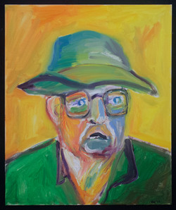 Fred in Green Hat