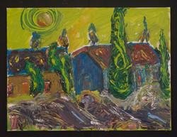 A Van Gogh House