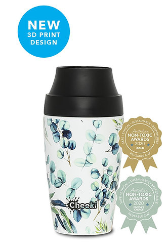 350ml Cheeki Insulated Coffee Mug - Watercolour