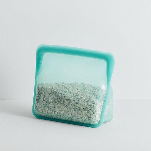 Gjenbrukbar Stasher silicone stand-up bag