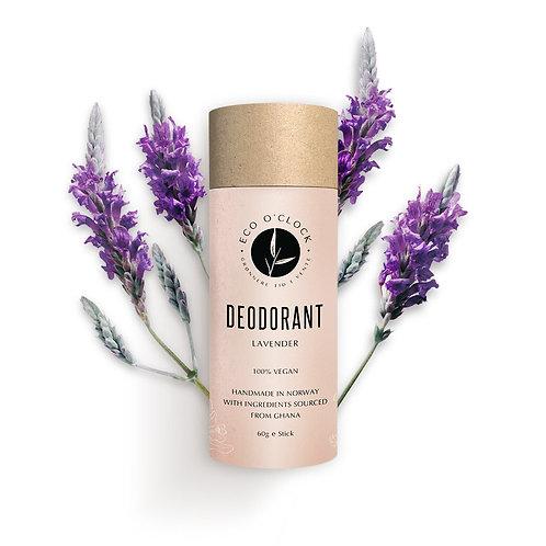 Vegansk deodorant - Lavendel fra Eco o´clock