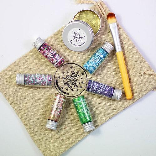 Nedbrytbare glitter fra Ecoglitter - Blends set