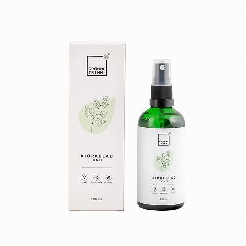 Bjørkblad tonic for tørr hud fra GrønneTrinn