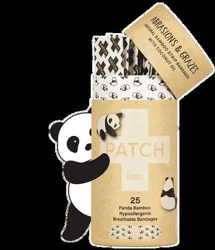 Patch Panda - Bamboo, Coconut Oil Strips for barna