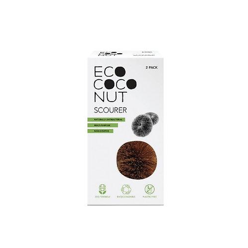 ECO-COCONUT rengjørings skrubb 2-PK