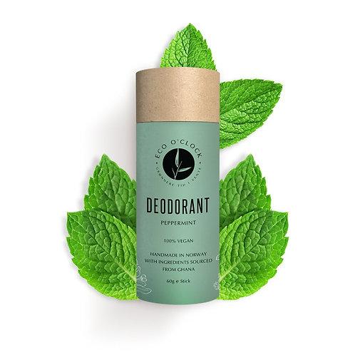 Vegansk deodorant - Peppermynte Eco o´clock