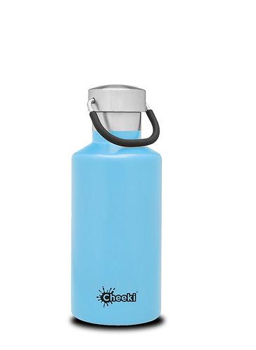 Cheeki INSULATED drikkeflaske Lysblå 400ml