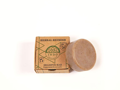 Herbal refresh - probiotisk shampoo bar fra Indo naturals