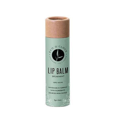 Vegansk grønnmynte lipsyl fra Eco o'clock
