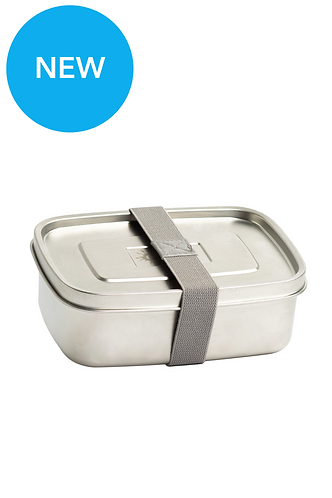 1 Litre Stainless Steel Lunch Box - The Essential fra Cheeki
