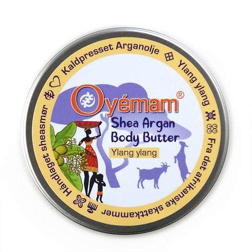 Oyémam Shea-Argan Body Butter, ylang-ylang 130g