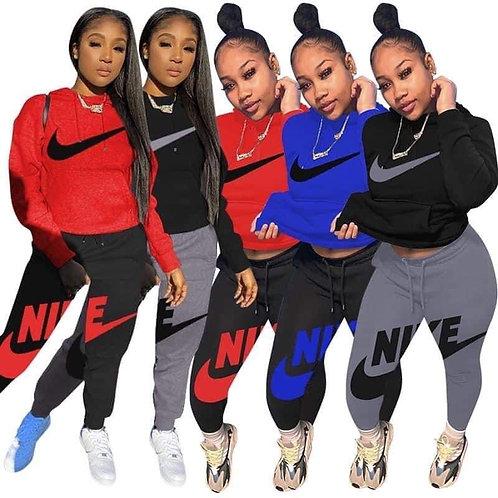 Nike hoodie 2pc set