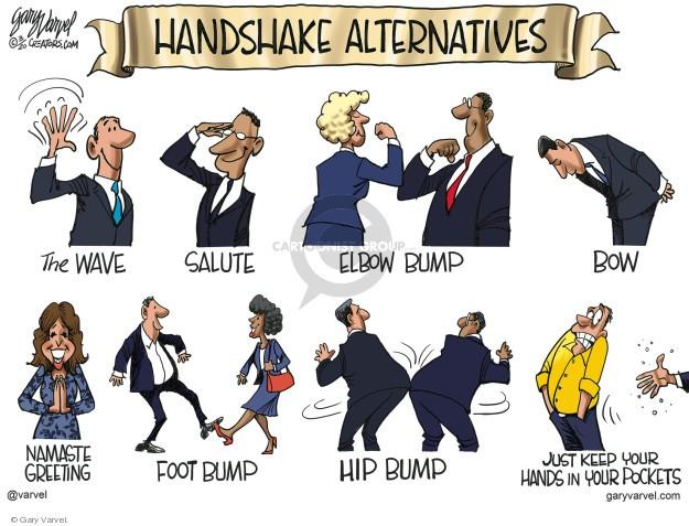 Kézfogási alternatívák | Smirgli