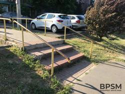 Kápmegyer Yellow Handrail