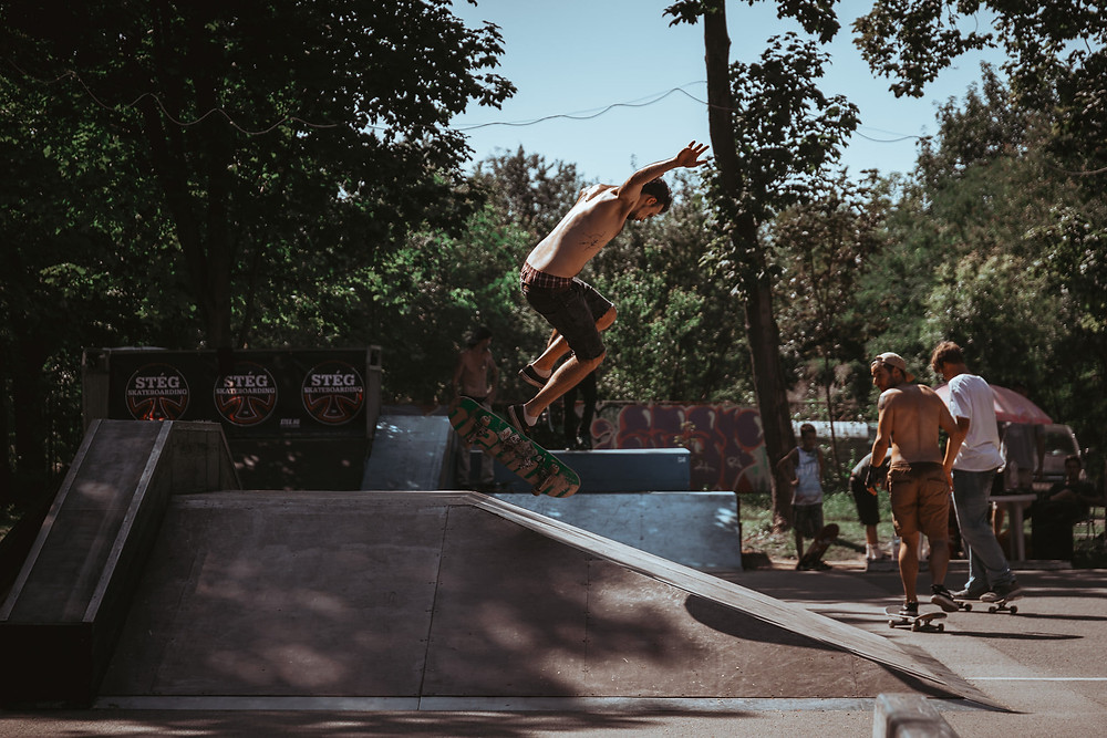 Gabó - nollie backfoot impossible  | PEEX 2020 | Fotó: Stég Skateboarding | Smirgli