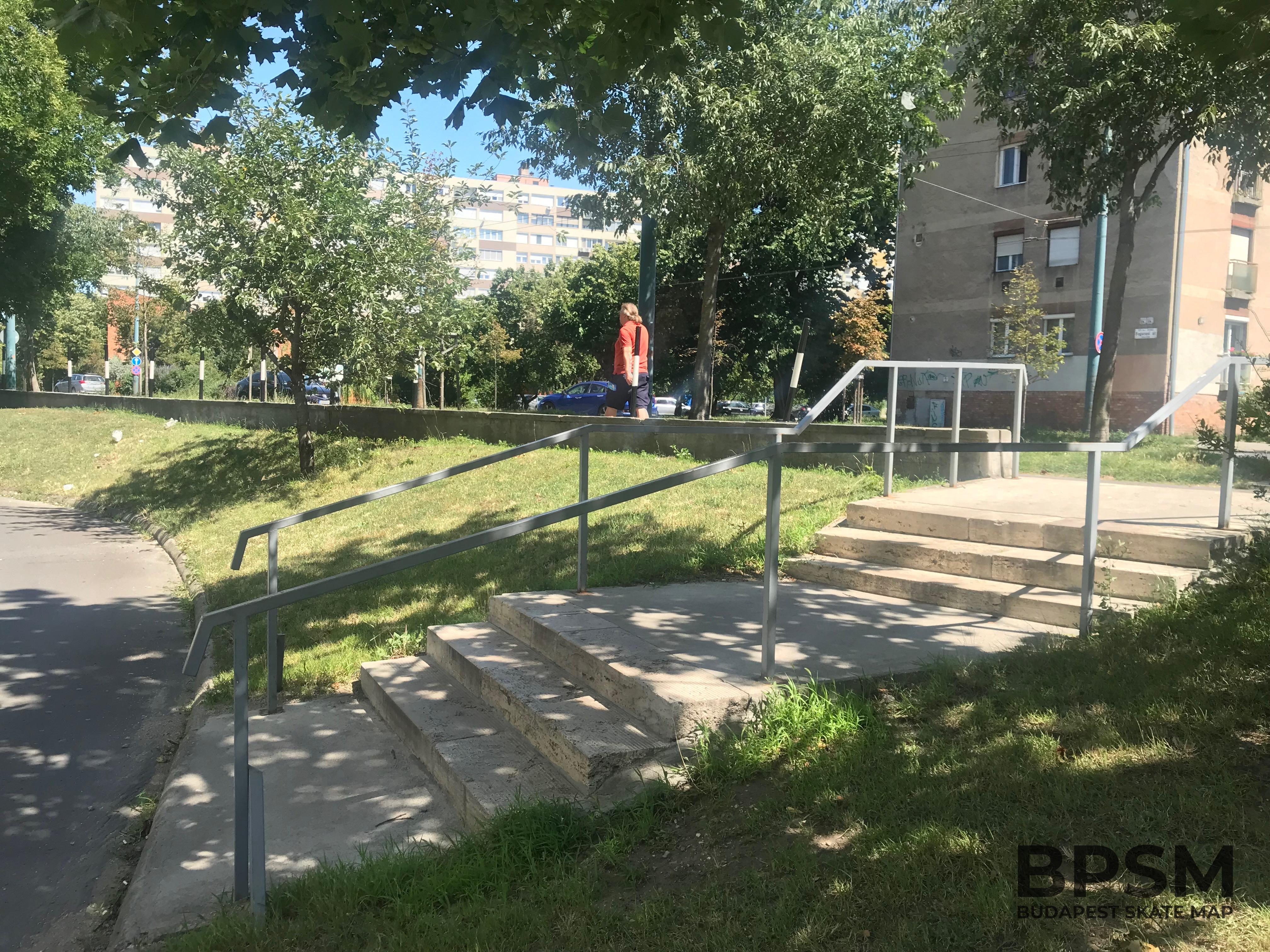 Fogarasi Kinked&Curved Handrail