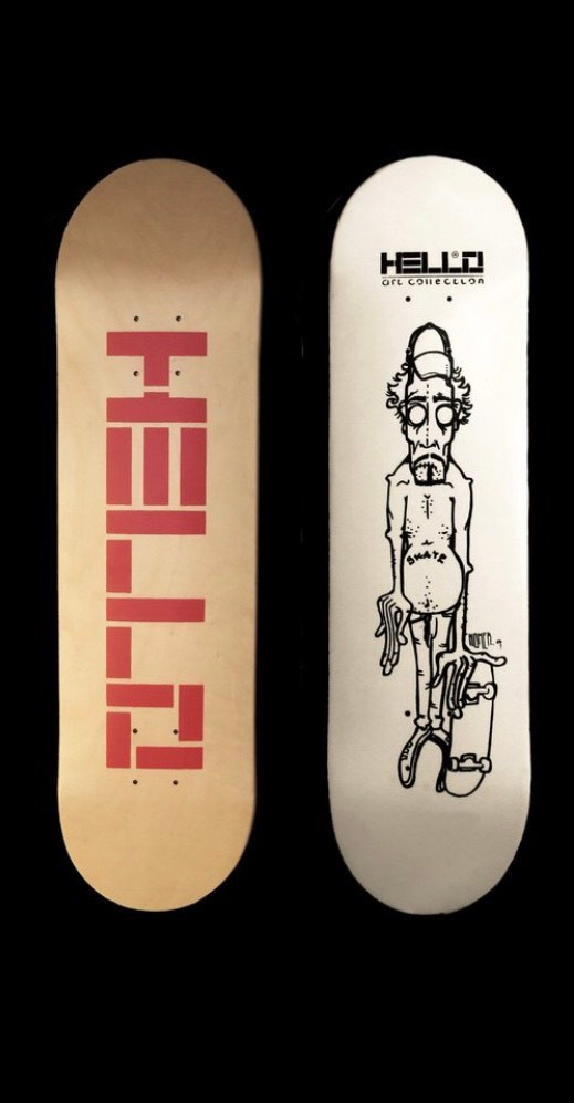 Hello Skateboards | Smirgli