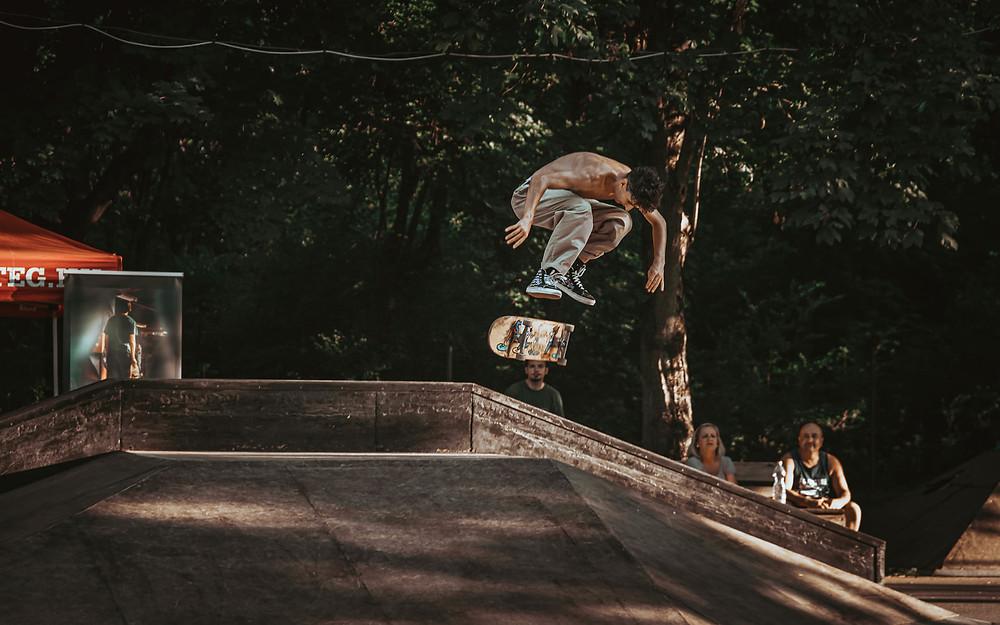 Diamond - heelflip | PEEX 2020 | Fotó: Stég Skateboarding | Smirgli