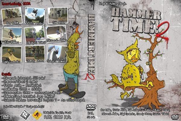 Hammer Time! 2 DVD borító | Smirgli