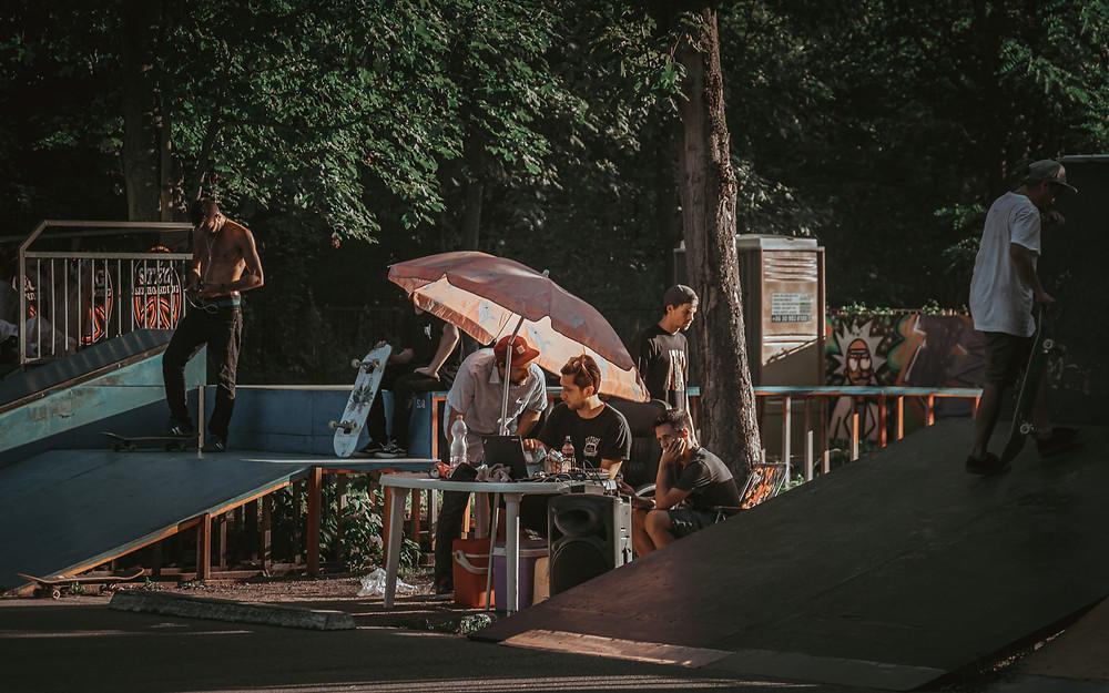 Szolykó és Kopri  | PEEX 2020 | Fotó: Stég Skateboarding | Smirgli