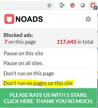 AdBlocker kikapcsolás az oldalon | Smirgli
