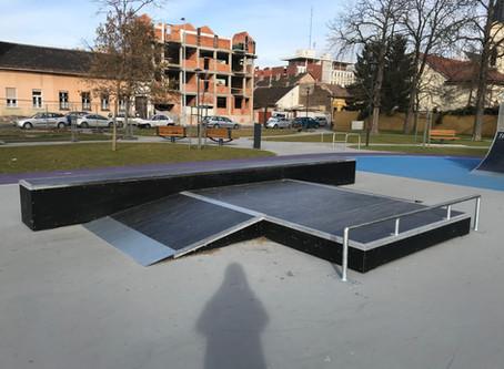 Skatepark Szemle   Budapest, Újpest Munkásotthon utca
