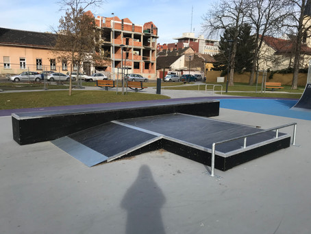 Skatepark Szemle | Budapest, Újpest Munkásotthon utca