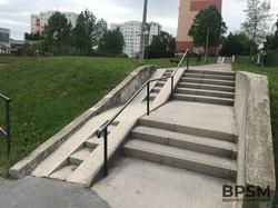 Budaörs Kinked Handrail (medium size