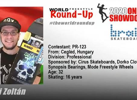 Tűri Zoli hetedik lett a World Freestyle Round-up-on!