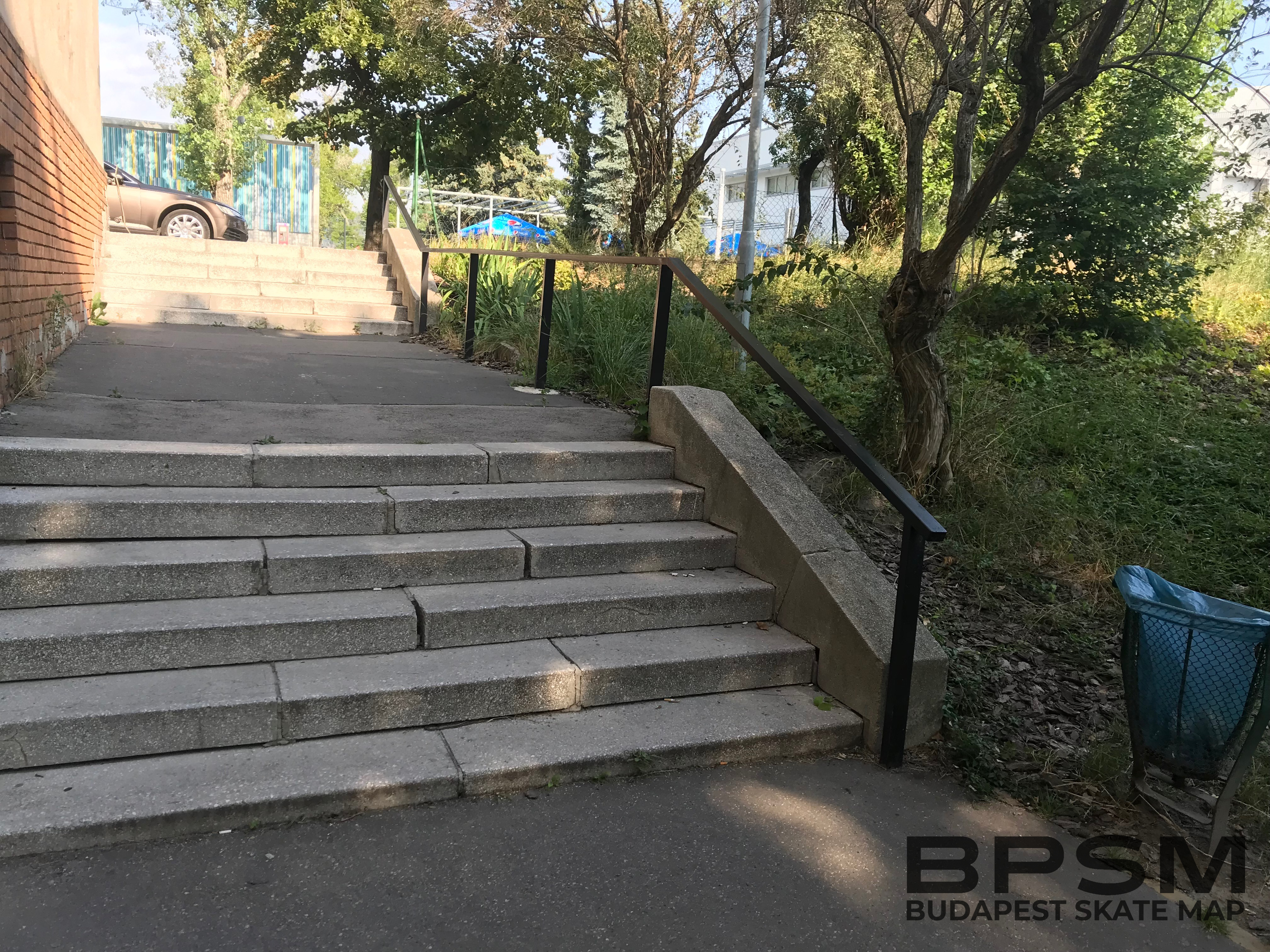 Népfürdő Kinked Square Handrail
