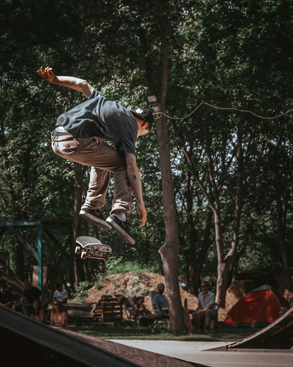 Mihi hardflip  | PEEX 2020 | Fotó: Stég Skateboarding | Smirgli