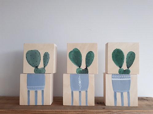 duo 1e, 2e ou 3e Tripod gris-bleu