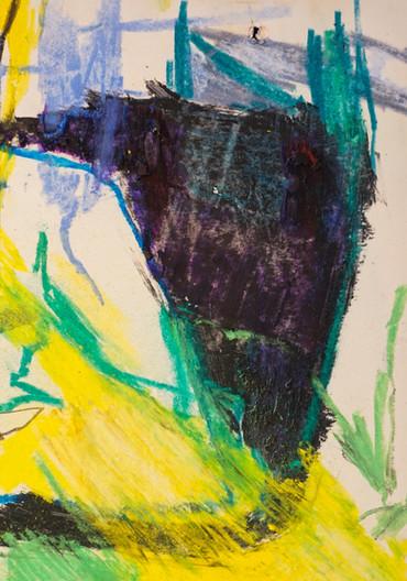 Experimentos de cor, linha e espaço