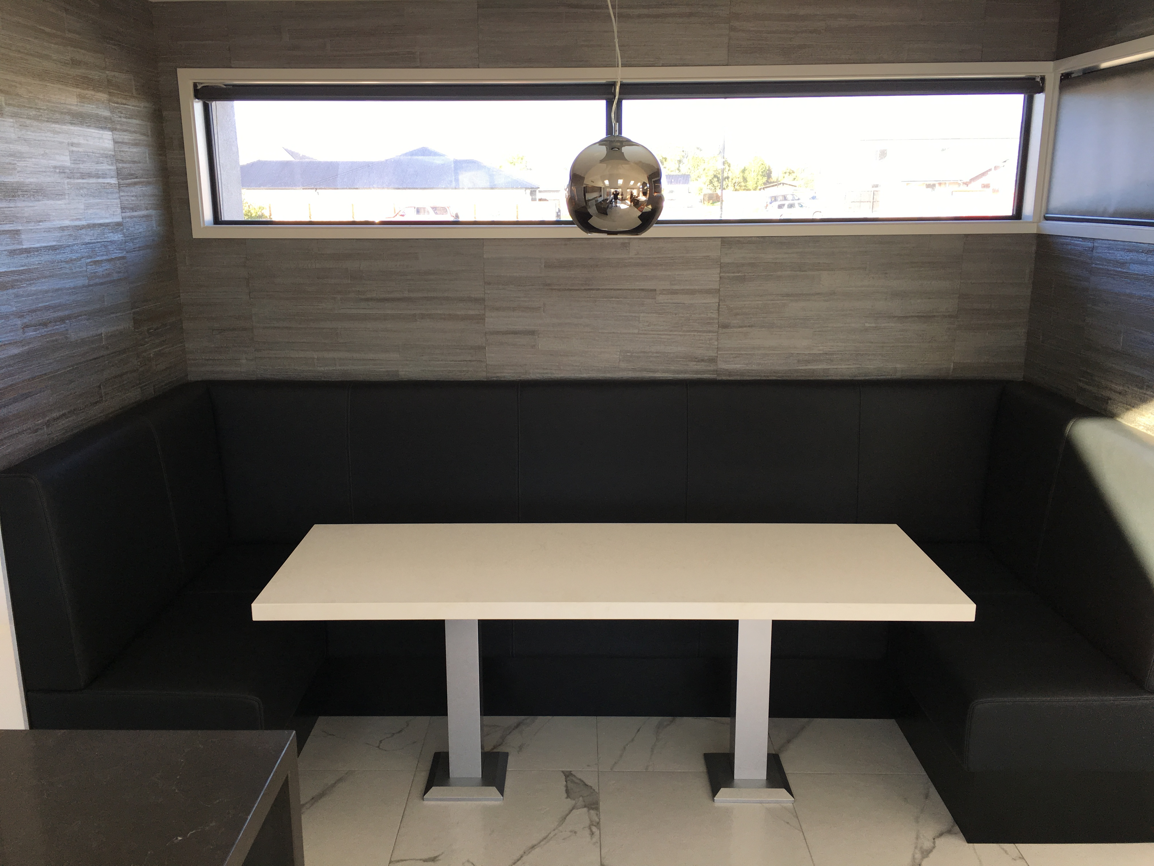 Custom Booth seat