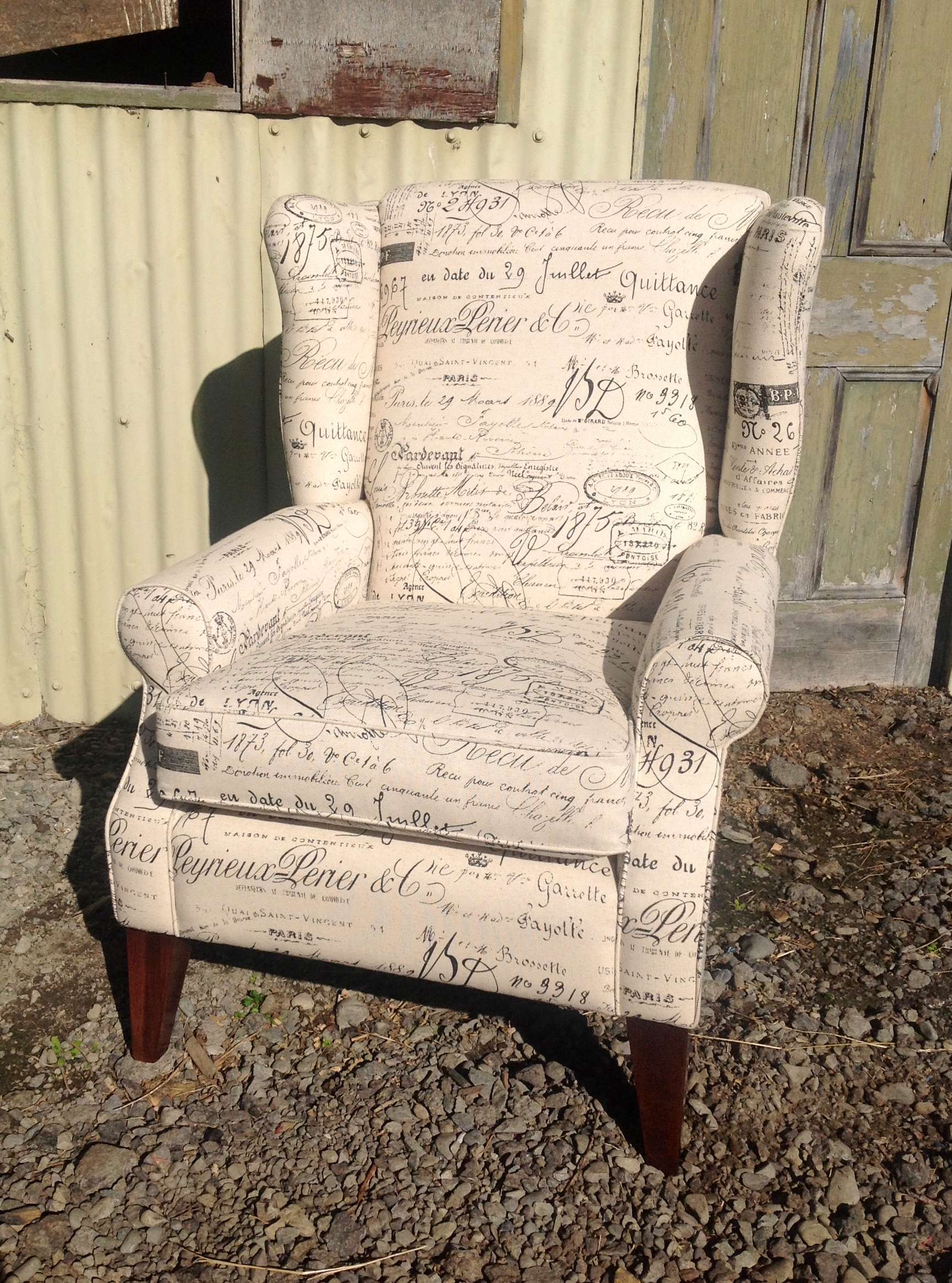 FORBS WING CHAIR