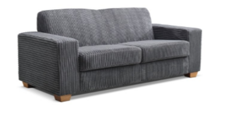 Premium 3seater corduroy sofa grey.png