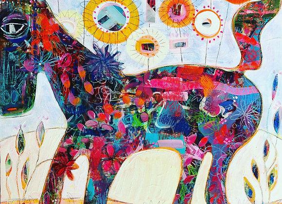 Calico Horse