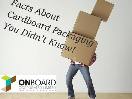 Facts About Cardboard Packaging You Didn't Know!