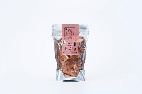玄米餅を米油で揚げたおかき <七味>