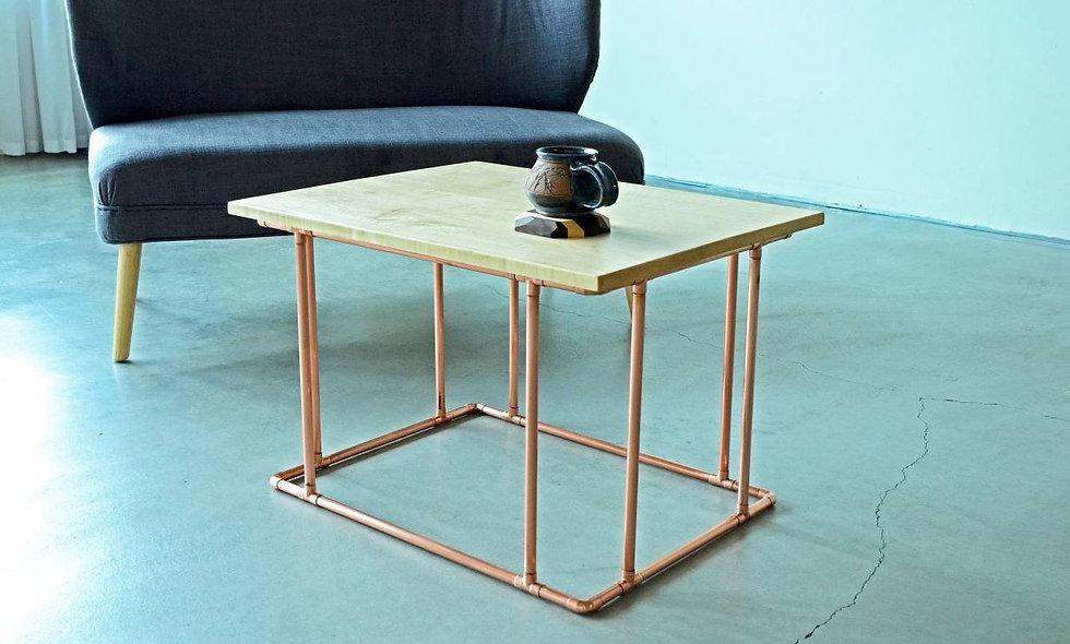 Copper & Maple Coffee Table