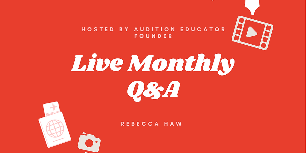 Audition Educator Monthly Q&A